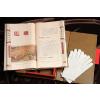 供应杭州丝绸礼品丝绸之路丝绸书丝绸彩印《论语箴言》丝绸书