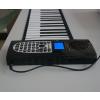 供应博锐61键正品多功能手卷钢琴带手感便携式硅胶手卷钢琴厂家直销