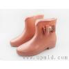 供应女式雨鞋,时尚雨鞋,透明雨鞋,水晶雨鞋,华中上贸易