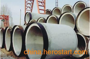 供应钢筋混凝土涵管 水泥排水管 钢承口顶管