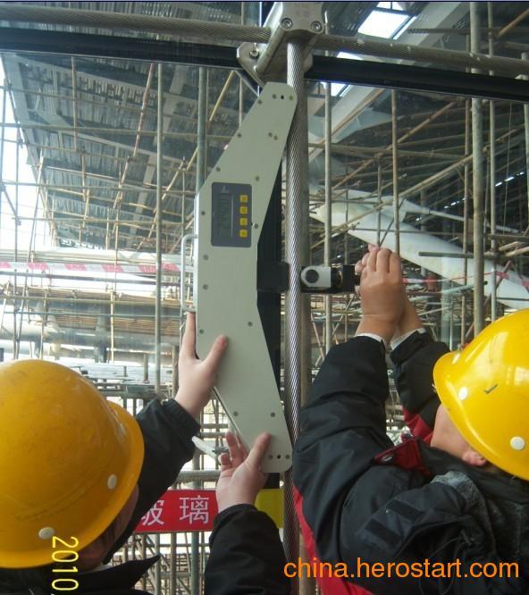 供应专业(玻璃幕墙拉索张力检测仪)钢丝绳张紧力测试仪