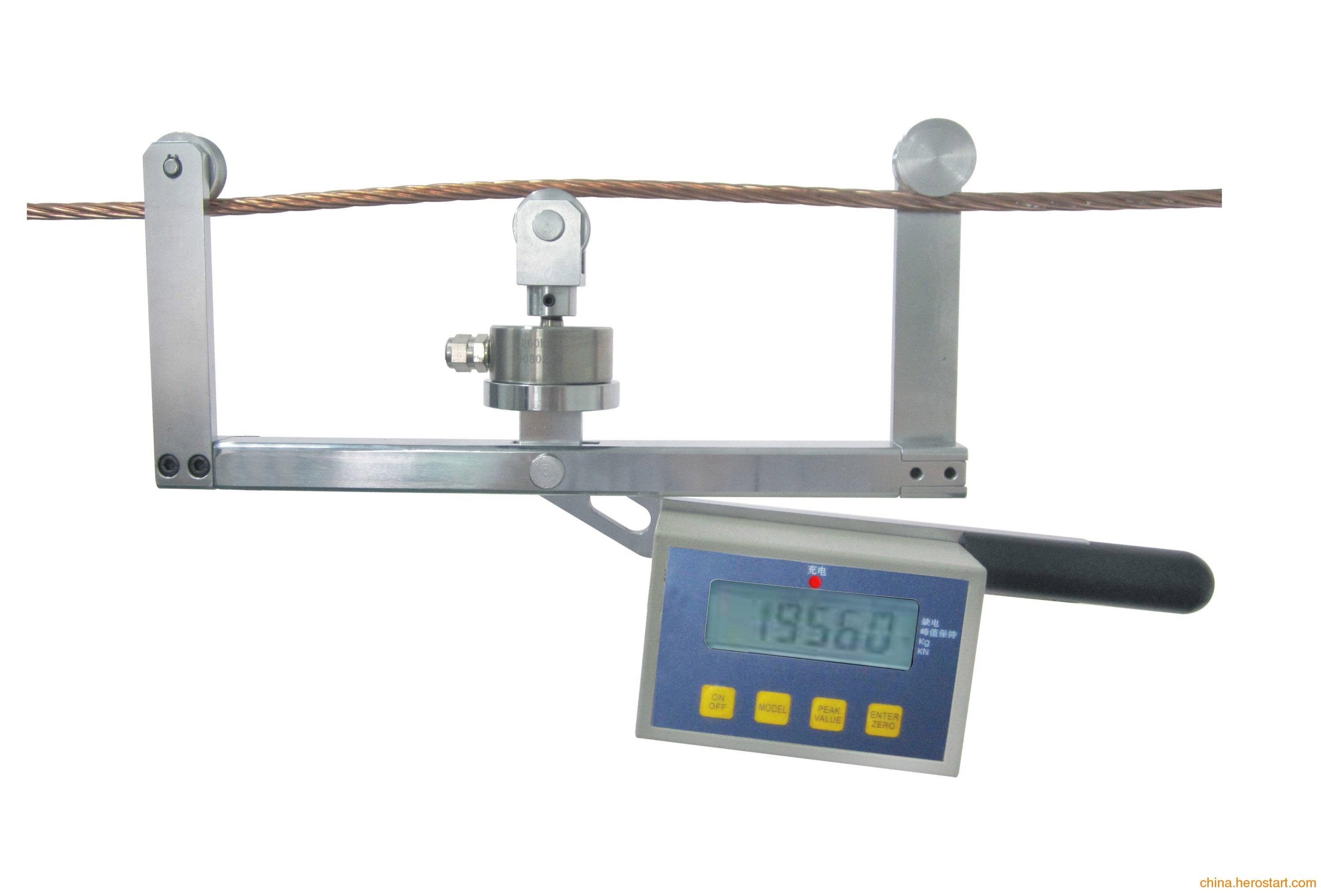 供应专业(弹性吊索张力测试仪)便携式线索张力测试仪