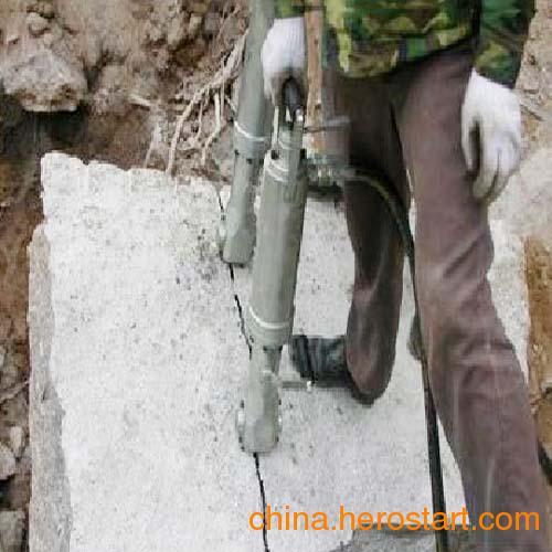 供应大块荒料石材分裂液压分裂机