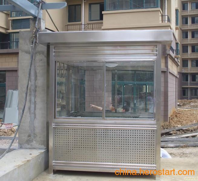 供应西安sus304不锈钢艺术岗亭