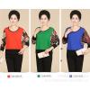 供应中老年女装针织衫图片 品牌中老年女式毛衣选购批发