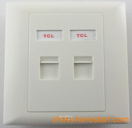 供应TCL双口信息面板PF1322 四口面板型号:PF1342