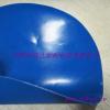 供应阻燃耐酸碱蓝色丁晴橡胶夹网布用于围裙
