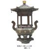 供应RS0016铜铁圆形香炉,寺庙圆形香炉特价,宗祠圆形香炉,圆形平口香炉厂家