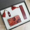 供应红木商务套装 木质工艺品 武汉礼品公司