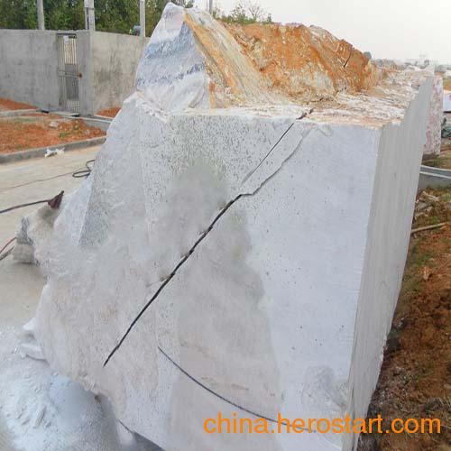 供应石材荒料分解开采用什么设备液压分裂机