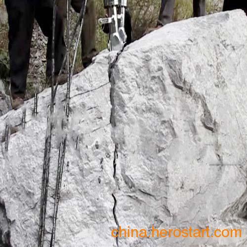 供应石头破碎液压劈裂机石头破碎机