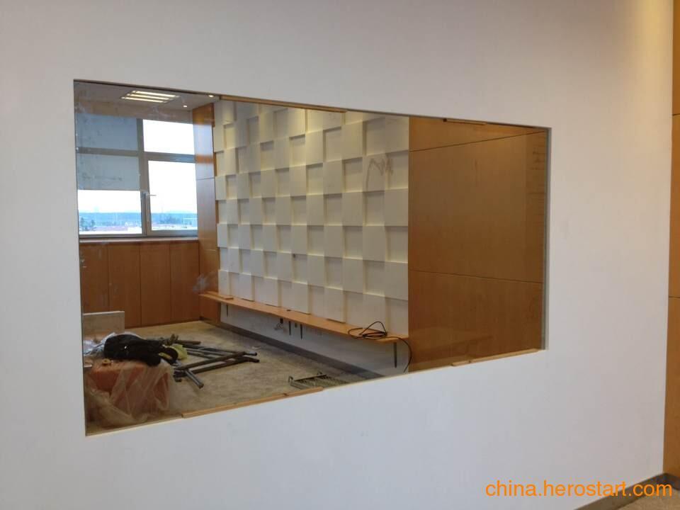 供应辨认室专用单向透视镜面玻璃