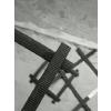 供应矿用钢塑土工格栅矿井支护专用土工材料