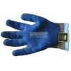 供应苏州劳保用品 E-CX4 进口钢丝 手掌天然乳胶 起皱防滑处 迷彩乳胶防割手套