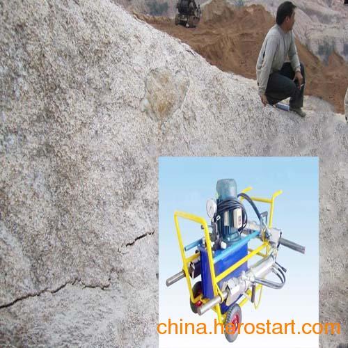 供应矿山开采设备液压劈裂机液压分裂机