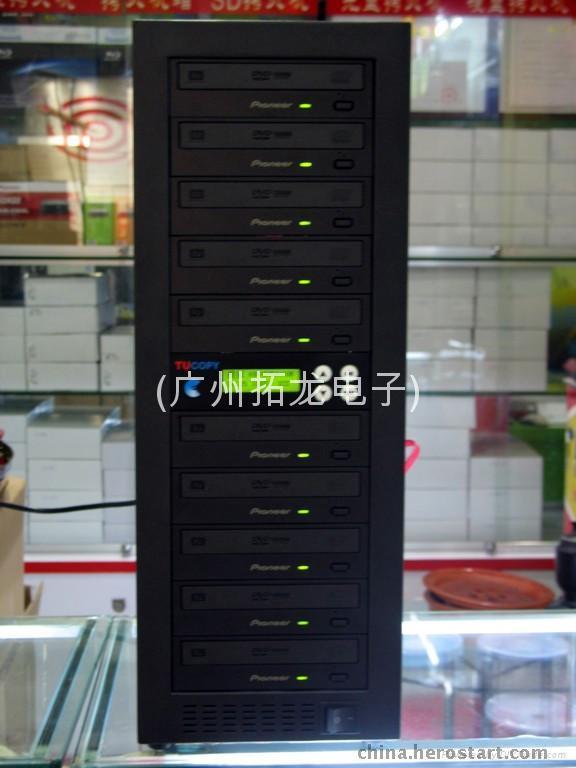 供应先锋DVD光盘拷贝机(1拖10)硬盘版