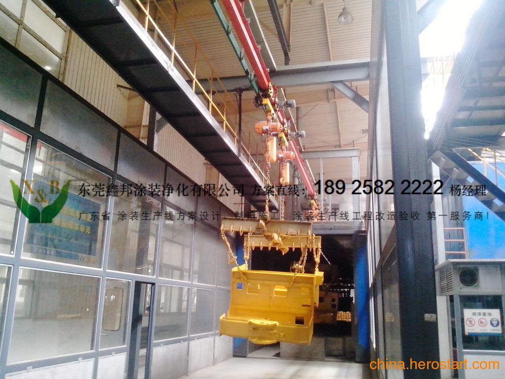 供应苏州涂装生产线设计施工厂家 苏州涂装前表面预处理生产线