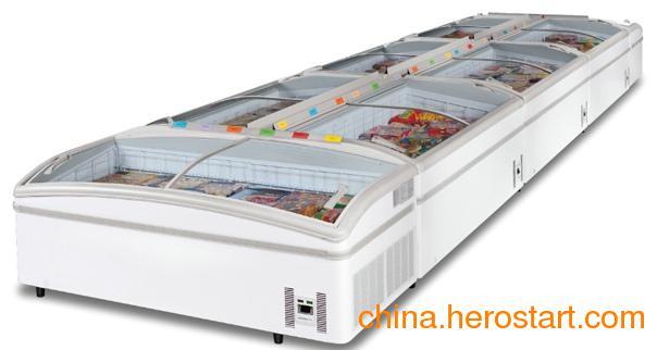 供应超市组合冷柜、组合冷冻柜、组合保鲜柜、组合陈列柜、速冻食品展示柜