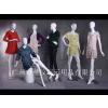 供应璃钢模特亮光白组合模特  2014新款 服装模特道具 高光亮白全身女模特 服装展示道具