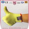 供应100%Aramid,芳纶防割手套 耐高温防护工作防切割手套 针织手套