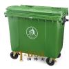 供应特价660L升塑料垃圾桶 小区环卫垃圾桶户外垃圾桶大型垃圾箱批发