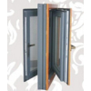 供应优质115系列金刚网一体铝木复合窗