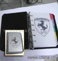 汽车礼品--金属笔记本