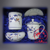 供应定制会议纪念陶瓷工艺品,青花瓷纪念品