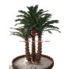 供应室外仿真人造棕榈树 假仿真人造棕榈树报价