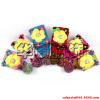 供应儿童围巾 立体花朵 秋冬保暖 时尚可爱 厂家批发 带球球亲子款