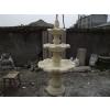 供应四川成都砂岩雕塑喷泉、花钵、景观灯