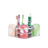 套装牙刷架批发-牙膏架供应商-太空铝杯架套装-彩塘镇迪龙雅不锈钢厂