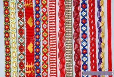 手工编织腰带