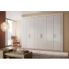 东莞板式家具厂家供应高亮光板式衣柜、三聚氰胺衣柜门板