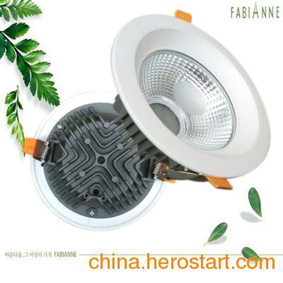 供应led筒灯外壳套件5寸cob筒灯外壳配件led压铸筒灯led筒灯外壳配件