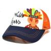青岛信誉最好的儿童帽子生产厂家恒益得供应定做卡通太阳帽旅游帽