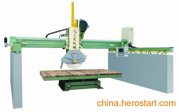 供应桥式自动石材中切机械