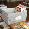 供应收纳盒收纳箱整理箱零食内衣收纳筐储物箱|套三清新收纳|小号 中号 大号 一套|草编