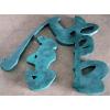 供应苏州仿古铜字制作 太仓黑钛字定制价格