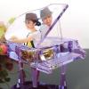 成都供应情人节送女朋友的最佳礼品-水晶钢琴甜蜜内雕印像