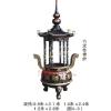 供应瑞盛生产圆形六龙柱香炉,长方形香炉厂家,佛像厂家,树脂佛像