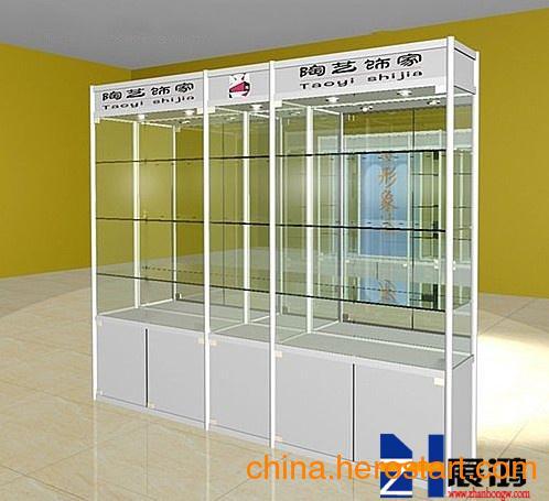 供应烟酒展示柜图片_展示柜厂家_广州展鸿展示柜厂家