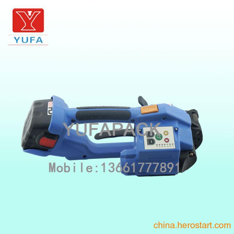 供应手持式电动塑钢带打包机 T-200电动打包机 红砖打包机 废铝捆扎机