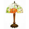 供应8寸-20寸艺术玻璃仿古欧式台灯