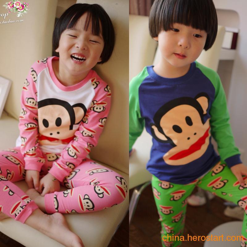 供应的纯童装品牌大嘴猴童装货源批发加盟
