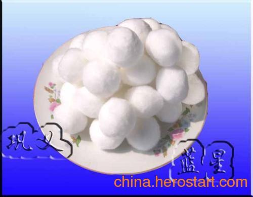供应纤维球,纤维球滤料规格(图),巩义蓝星
