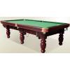 供应高档雕刻台球桌标准美式黑8九球桌 家用赛用台球桌