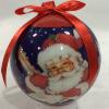 供应80MM圣诞球带LED灯圣诞装饰品圣诞产品赠品礼品