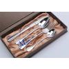 供应揭阳不锈钢餐具 西餐刀叉勺礼盒套装 礼品餐具定制 节庆日福利礼品