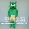 供应郑州高超卡通服装有限公司 卡通服装绿熊猫卡通人偶服装